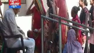 વંડા ગામે સ્વ.કુસુમબેનના સ્મરણાથે છાસ વિતરણ કરાય