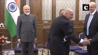 SCO Summit: PM Modi meets Afghanistan President Ashraf Ghani in Kyrgyzstan's Bishkek