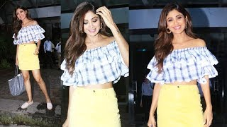 Gorgeous Shilpa Shetty Kundra Spotted At Andheri