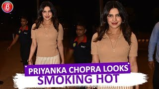 Priyanka Chopra Looks Smoking Hot In An Orange Ensemble