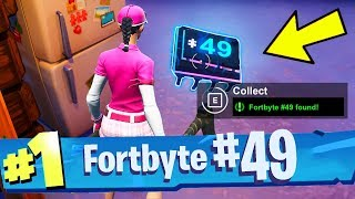 FORTBYTE #49 Found In Trog's Ice Cave Location Fortnite Fortbyte number 49