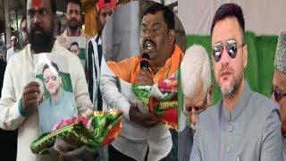 Hindu Brothers Pray For Akbaruddin Owaisi At Nampally Yousufain Dargah | @ SACH NEWS |