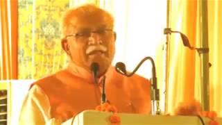 खट्टर का कांग्रेस पर बड़ा हमला | Khattar Ka Congress Par Bada Hamla