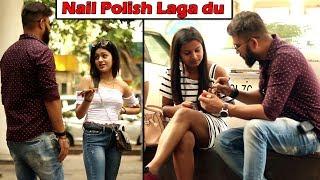 Nail Polish Laga Du Prank | Comment Trolling E22 | Unglibaaz