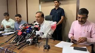 Himanta Biswa Sharma_ Press conference at Janata Bhaban