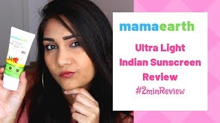Best & Affordable Ultra Light Indian Sunscreen with SPF 50 Review | #2minReview | Nidhi Katiyar