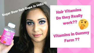 Hair Vitamins for Silky Healthy Hair !! | Hair Gummies in India | Top Gummy Hair Vitamins Review