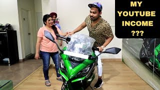 Bought New Superbike From Youtube Money ????