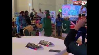 WORLD CUP 2019 : भारत-पाक के बीच करो या मरो की जंग से पहले बजा शंख, चचा ने किया भांगड़ा