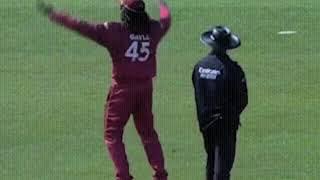 WORLD CUP 2019 : मैच के बीच मैदान पर CHRIS GAYLE ने किया DANCE