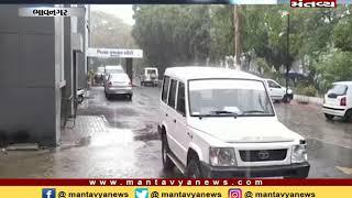 Bhavnagar: ભારે વરસાદના પગલે ભુવા પડતા ટ્રક સહિતના વાહનો ફસાયા - Mantavya News