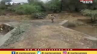 Gir Somnath: વેરાવળમાં ભારે વરસાદના પગલે દેવકા નદી બે કાંઠે - Mantavya News