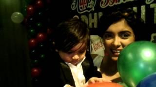 Dhwanit Birthday Masti Richa Soni with Dhwanit