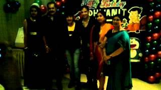 Dhwanit Birthday with Ravi Kishan