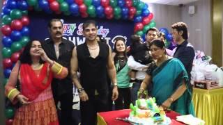 Sudip Pandey With Dhawanit Birthday Party,Richa Soni