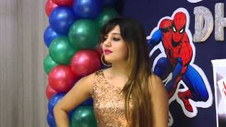 South Movie Actress Photoshoot At Dhwanit Birthday Party
