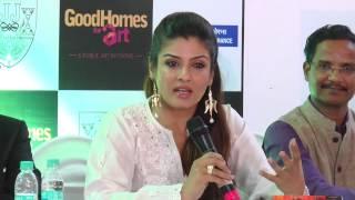 Rvina Tandon Speech- Top Bollywood Hot Actress For Good Home Arts