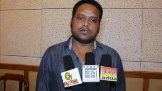 Interview of Actor Baleshwar Singh For Bhojpuri Movie Dagabaz song Recording