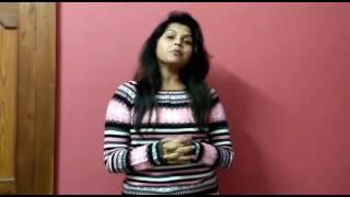 Blood Call Center Member Actress Shagun Dubey Message & Bytes