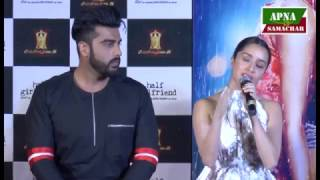 Half Girlfriend Full Movie Launch Arjun Kapoor Shraddha Kapoor 2