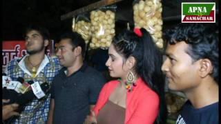 भोजपुरी फिल्म स्वर्ग - Arvind Akela Kallu - On Location - Interview