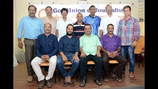 Rajtilak Naik Elected As President Of Goa Union Of Journalist