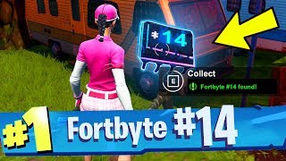 FORTBYTE #14 Found Within An RV Park Location Fortnite Fortbyte Number 14