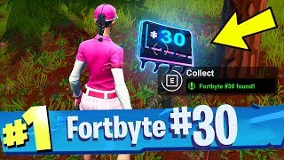 FORTBYTE #30 Found Somewhere Between Haunted Hills And Pleasant Park Location Fortnite