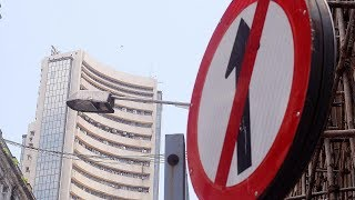 Sensex slips over 100 points, Nifty moves below 11,800; Rel Infra tanks 10%