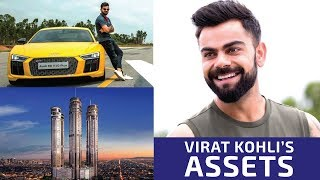 List of Virat Kohli's ridiculously expensive assets