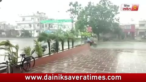 Video- Gurdaspur में बदला मौसम, बारिश के साथ बरसे ओले