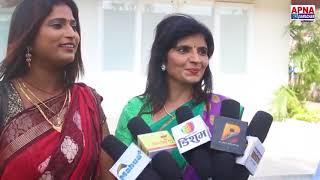 "Bhojpuri Movie ""Mujhse Shaadi Karogi"" Exclusive Interview Sony Pandey ,Ragni pandey"
