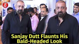 Sanjay Dutt Flaunts His Bald-Headed Look With Aplomb