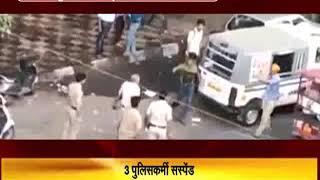 दिल्ली : पुलिसकर्मियों ने बीच सड़क पर सिख ऑटो चालक और उसके बच्चे की पिटाई, 3 सस्पेंड