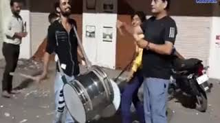 Dhoraji |Una |Celebrate  Indias victory in cricket match| ABTAK MEDIA