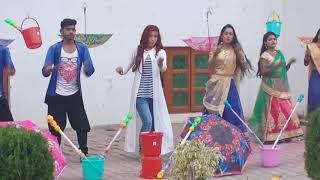 2019 सुपर होली song ,हिलल ना होली में पलगिया live sutting