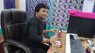 देखिये live recoding कैसे होता है singer kavya krishnmurti ,म्यूजिक by महिपाल भारद्वाज ,M.M.V studi