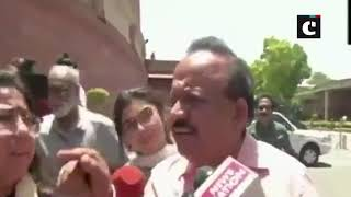 Health Minister Dr Harsh Vardhan on Bihar condition: We are doing our best.