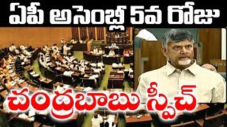 Chandrababu Naidu Speech in Assembly  | Andhra Pradesh Session 2019 | CM Jagan | Top Telugu TV