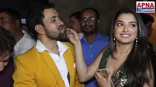 जुबलीस्टार दिनेशलाल यादव निरहुआ के जन्मदिन में पहुंचे भोजपुरी फिल्म के सारे सुपर स्टार