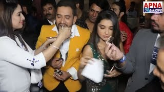 भोजपुरी के सभी सितारों ने मिलकर दिनेश लाल यादव निरहुआ के जन्मदिन पे दी ढेर सारी  बधाई