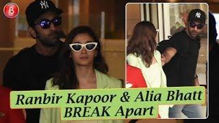 Ranbir Kapoor & Alia Bhatt BREAK Apart & Go Their Separate Ways