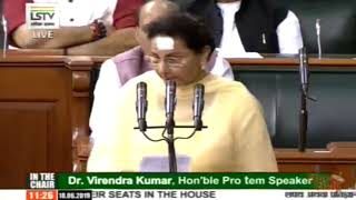 Preneet Kaur takes oath as a member of 17th Lok Sabha