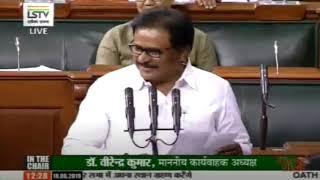 Su Thirunavukkarasar takes oath as a member of 17th Lok Sabha