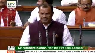 Komati Reddy Venkat Reddy takes oath as a member of 17th Lok Sabha