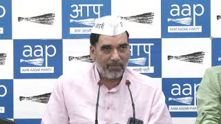 AAP Delhi Convenor Gopal Rai Announces the Detail of Meetings conducted on Free Metro Travel