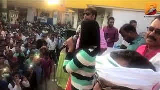 रवि किशन, अंजना सिंह और मनोज टाइगर को देखने हाजीपुर में उमड़ा जनसैलाब