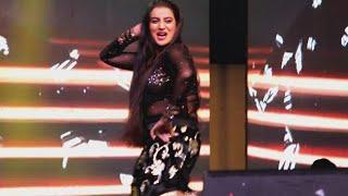 #अक्षरा_सिंह ने स्टेज पर किसको I Love You बोल दिया, Noida Live Stage Show Akshara Singh 25 Dec 2018