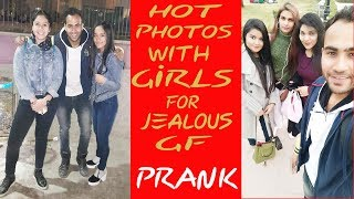 Taking  Selfie  With Girls For JEALOUS GF !! *PRANK* | ANBTEAM