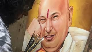 Guru Ji Bade Mandir | Painting by Navneet Agnihotri | Dugri | bhajan | Jai Guruji | Tera Shukriya